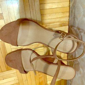 ASOS brown heels